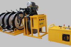 фото: МСПТ-500 (Россия) Гидравлический сварочный аппарат для стыковой сварки пластиковых ПНД полиэтиленовых ПЭ труб встык