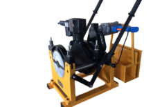 фото: МСПТ-200Т2 Механический сварочный аппарат для стыковой сварки пластиковых ПНД полиэтиленовых ПЭ труб встык