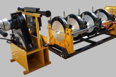 фото: МСПТ-250 (Россия) Гидравлический сварочный аппарат для стыковой сварки пластиковых ПНД полиэтиленовых ПЭ труб встык