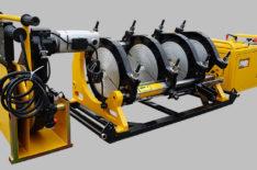 фото: МСПТУ-355 (Россия) Гидравлический сварочный аппарат для стыковой сварки пластиковых ПНД полиэтиленовых ПЭ труб встык