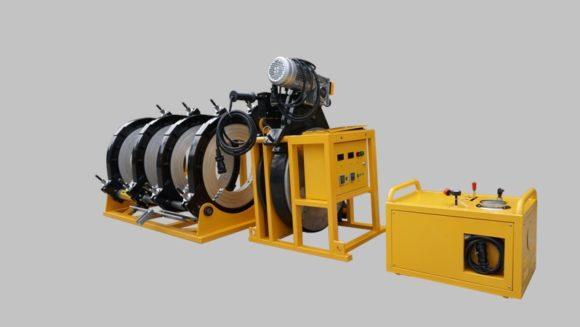 фото: МСПТУ-400 (Россия) Гидравлический сварочный аппарат для стыковой сварки пластиковых ПНД полиэтиленовых ПЭ труб встык